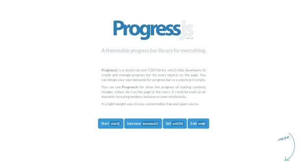9 progressjs - 15 ferramentas para animação CSS3 que todo programador deve conhecer