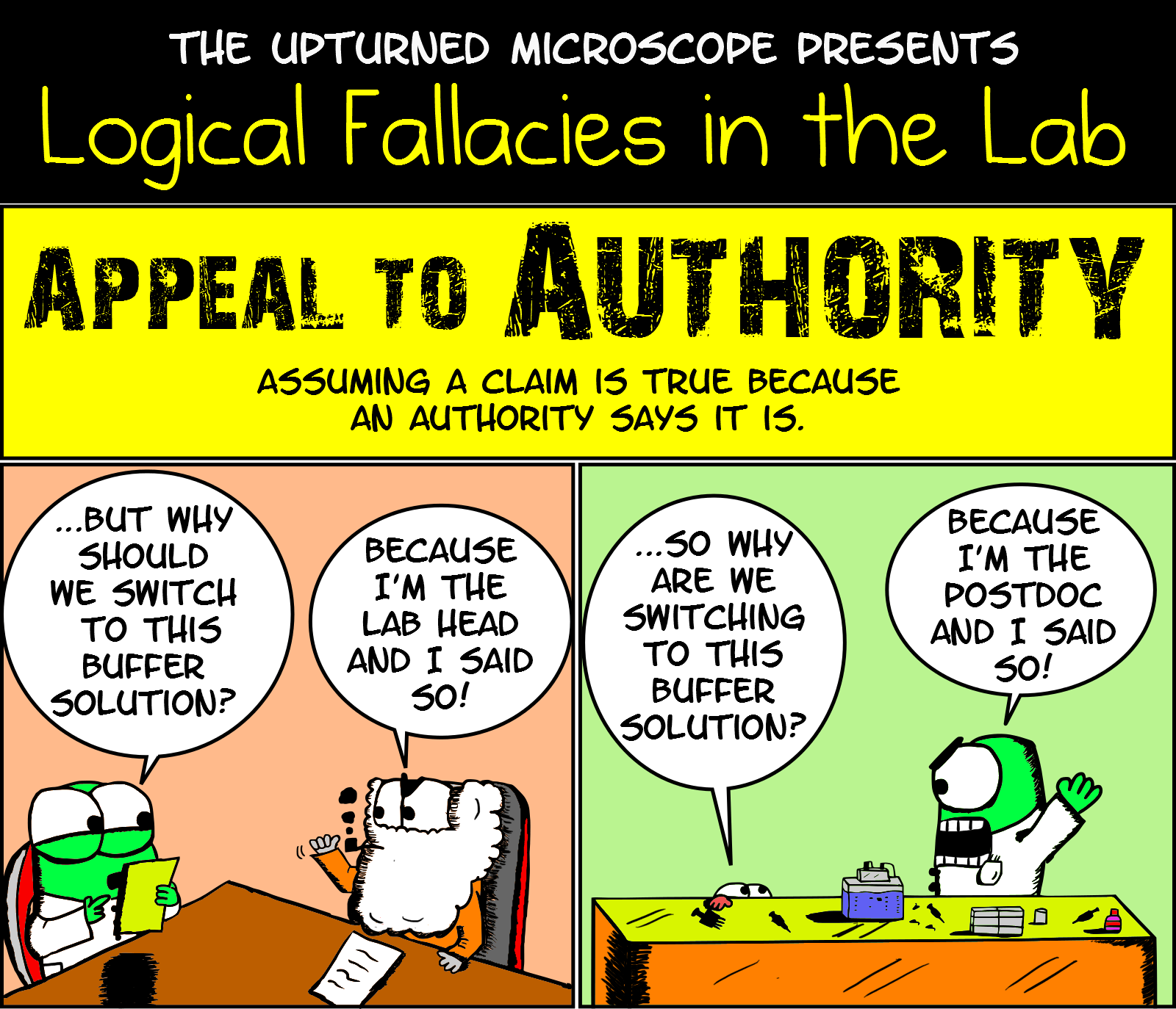 Logical Fallacies Appeal To Authority