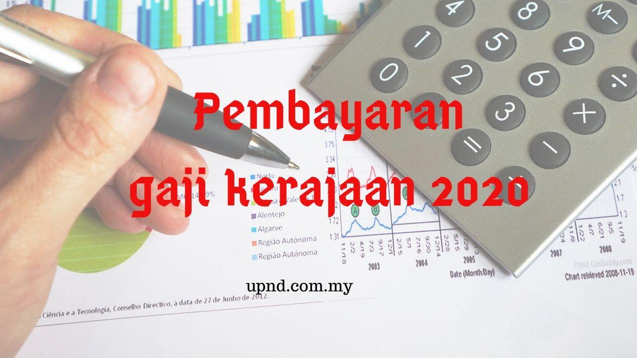 gaji dibayar tahun 2020 tarikh
