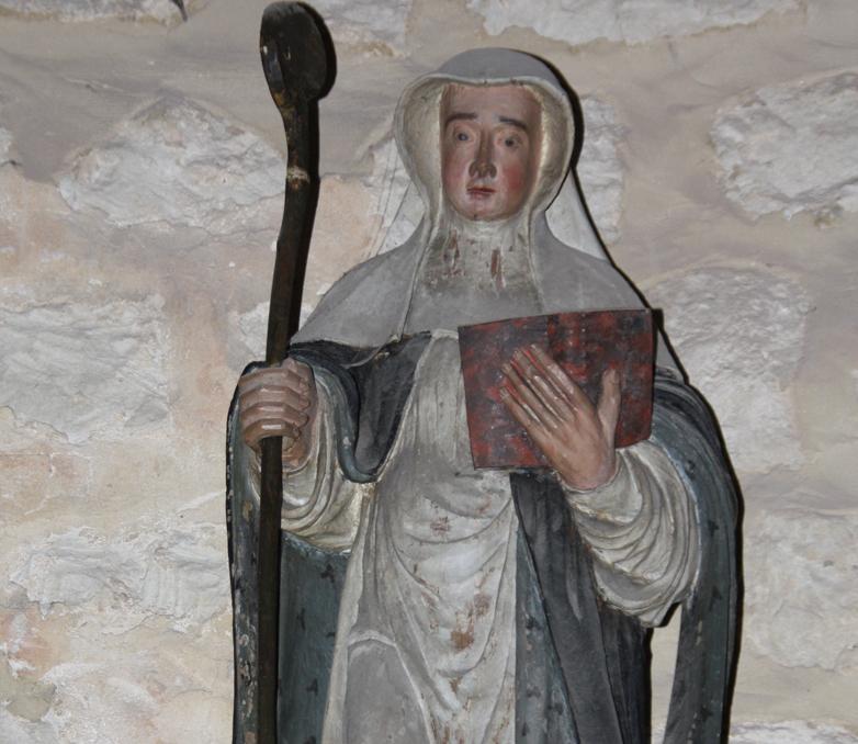 Statue Gertrude-buste