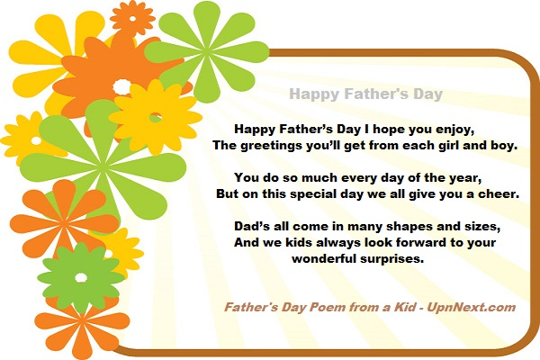 happy fathers day poem pictures