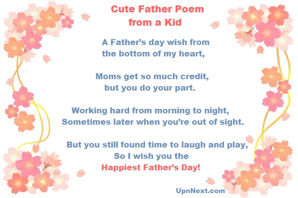 fathers day poems pics