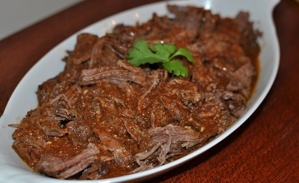 Beef Barbacoa for Father's Day Lunch
