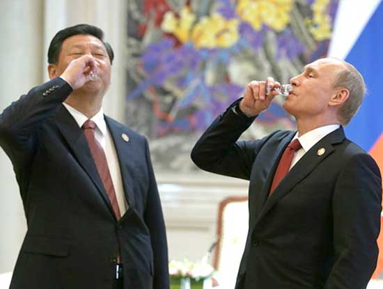 Image result for putin chinese