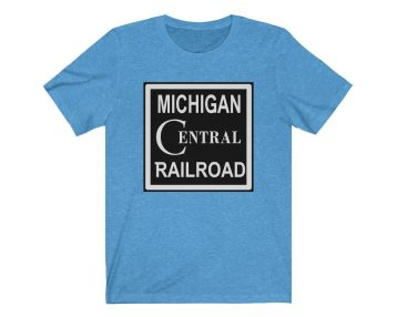 UpNorth Tee - Michigan Central Railroad (Michigan Vintage Collection) - Central Railroad Shirt - Michigan T-Shirt
