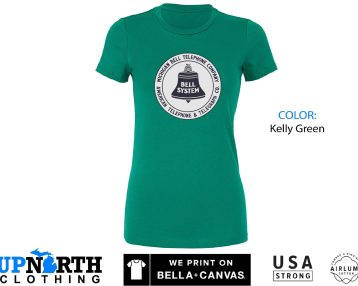 Women's Tee - Michigan Bell - Telephone Company - Vintage Design - Michigan Women's T-Shirt