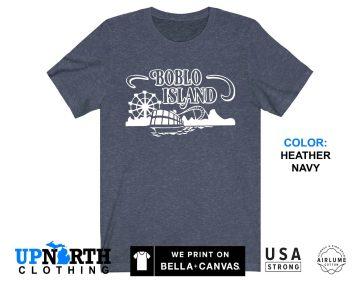 UpNorth Tee - Boblo Island Amusement Park Shirt - Bob-Lo Boat - Detroit Michigan Shirt - Free Shipping