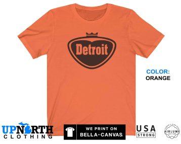 UpNorth Tee - Detroit Pop Style Logo - Faygo Style Detroit Log - Free Shipping