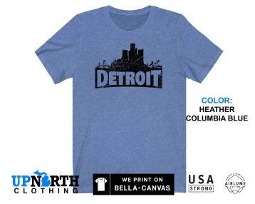 UpNorth Tee - DetroitNITE - Detroit Gamer Shirt - Free Shipping