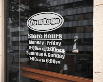 Small Business Decals