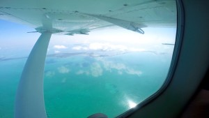 Ocean view from Cessna
