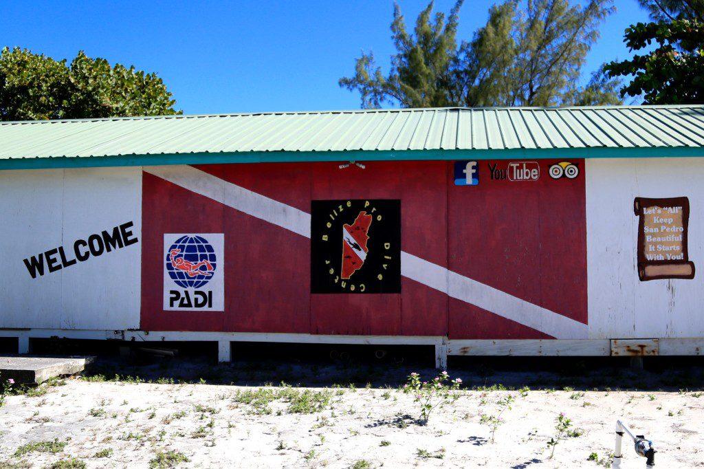 Outside of Belize Pro Dive Center
