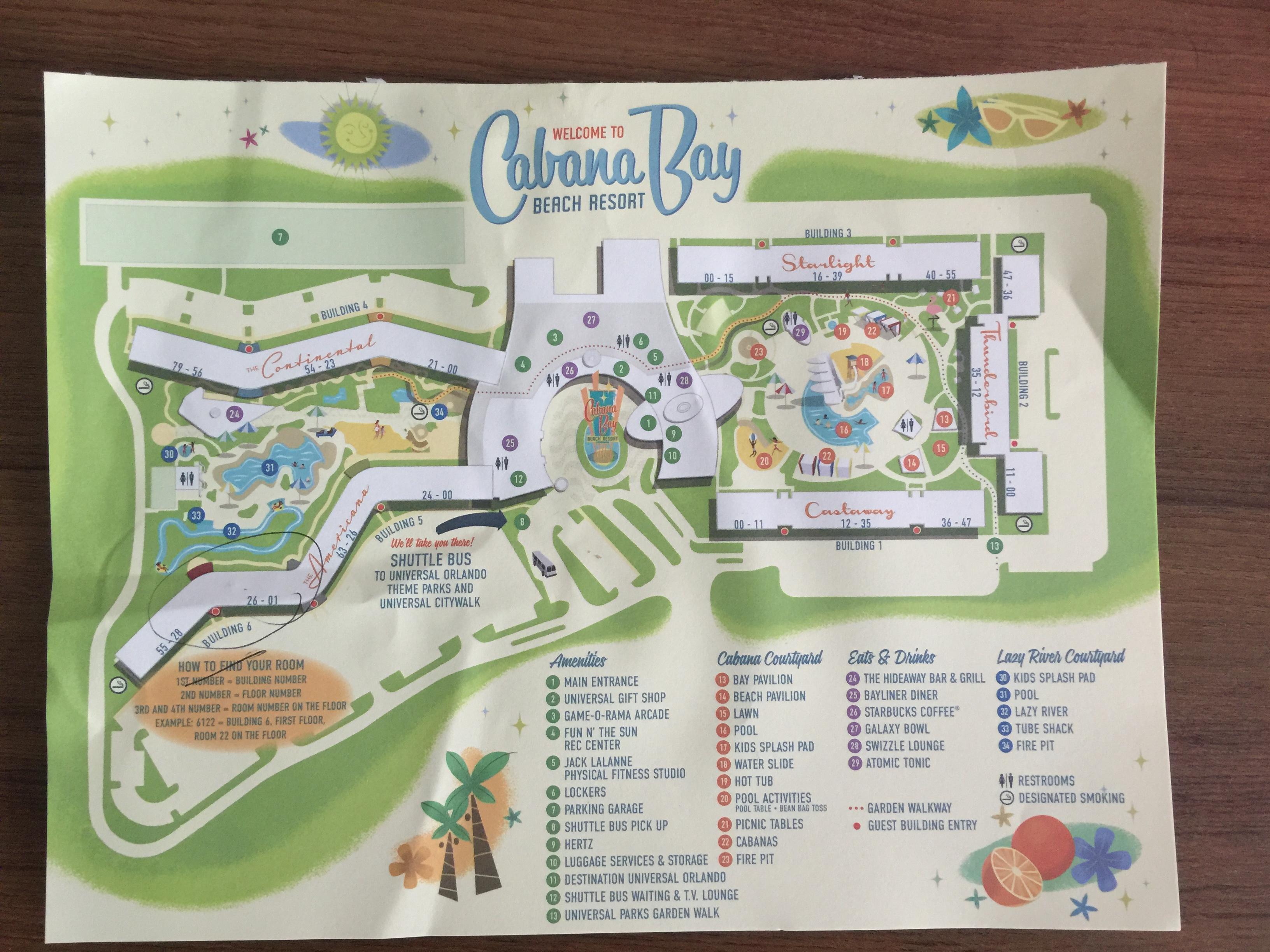 Cabana Bay Beach Resort at Universal Studios Orlando