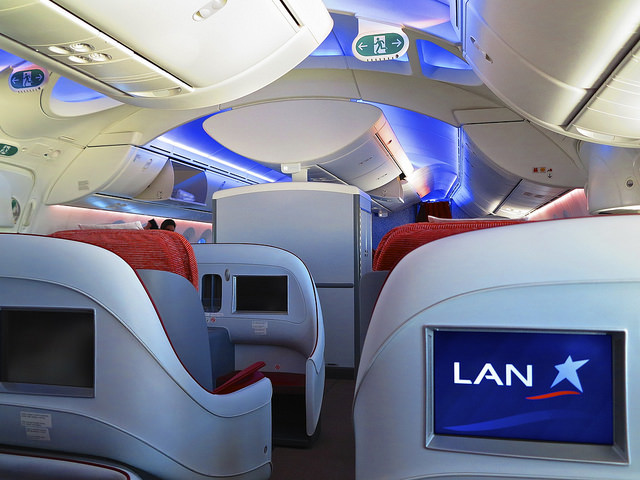 LAN Airlines business class