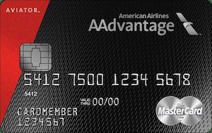 AA Aviator Card.