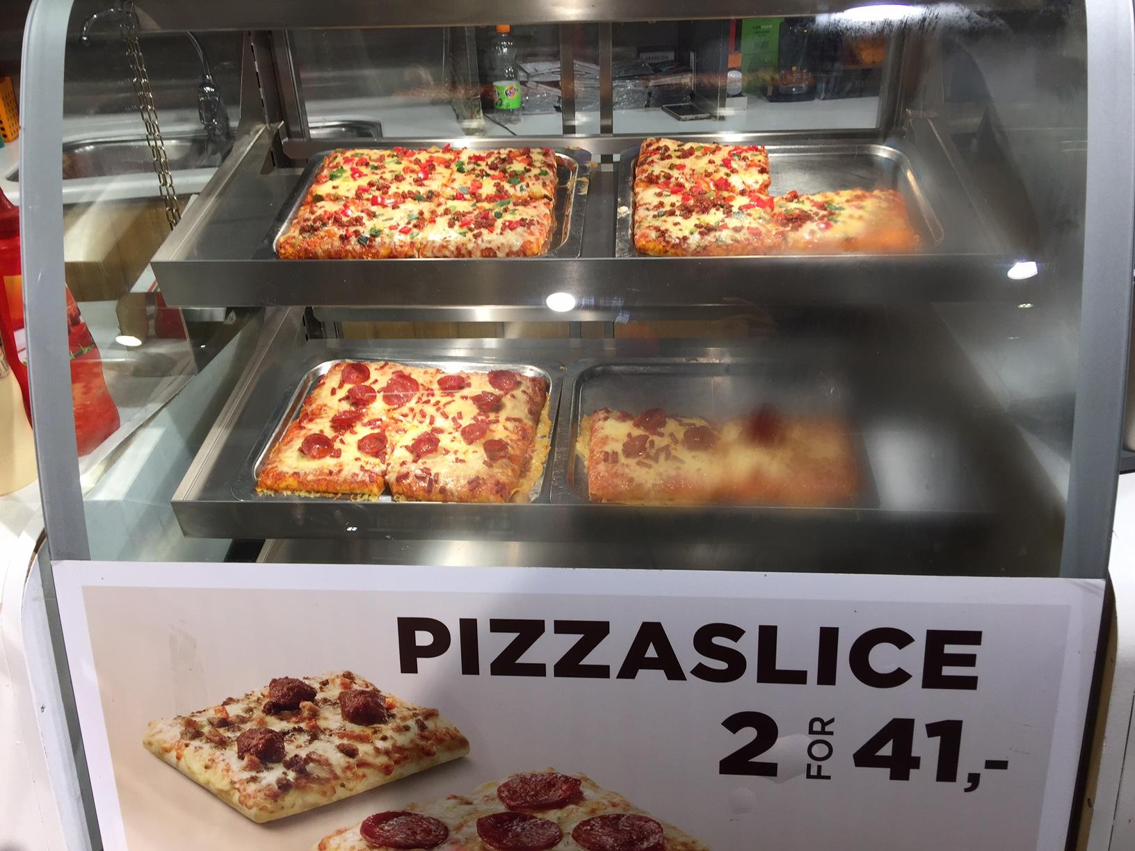 Pizza in case