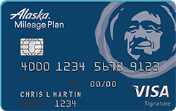 Alaska Airlines Visa Signature Credit Card