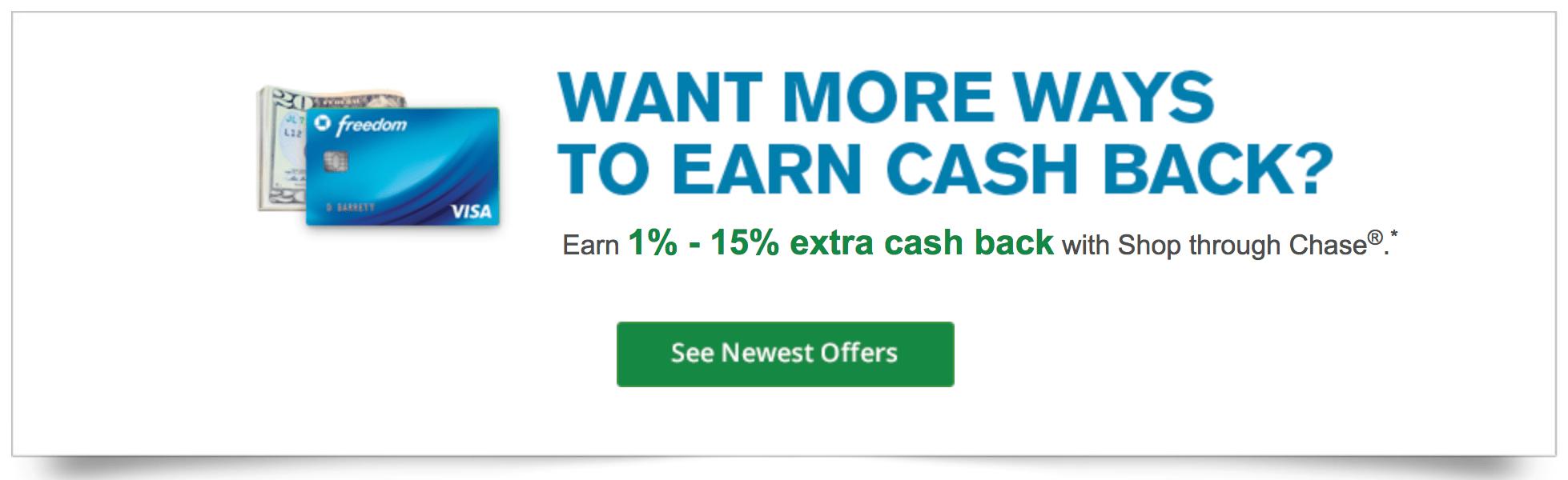 chase rewards shopping portal