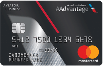AAdvantage Aviator Business Card card art