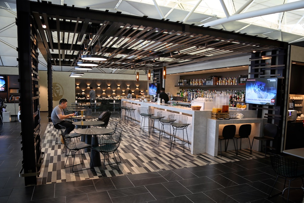 Amex Centurion Lounge at HKG.
