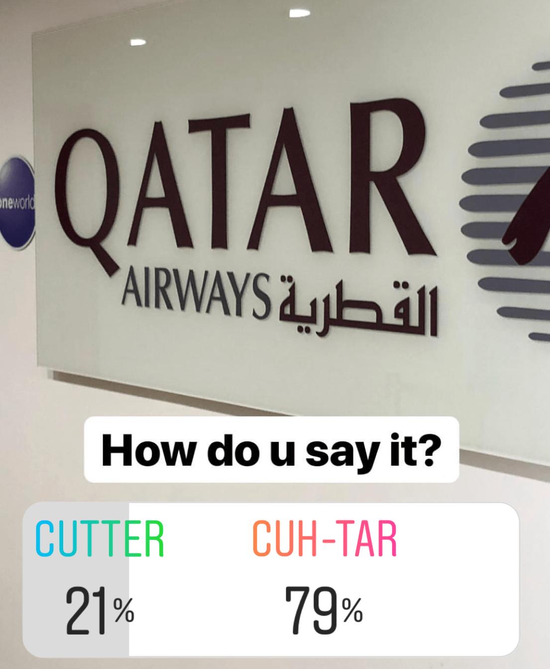 Qatar Pronunciation