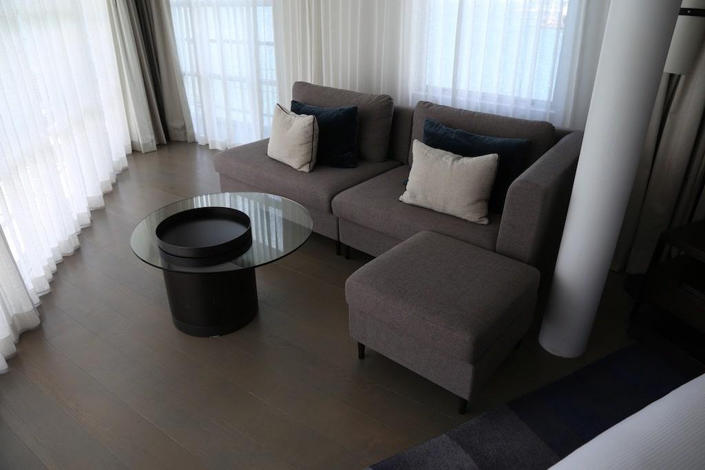 Hilton Auckland Bow suite.