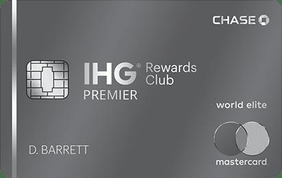 IHG credit card offer