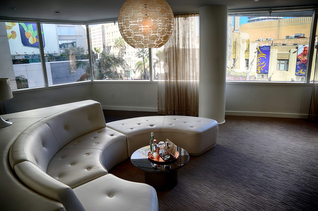 Suite at the W Hollywood.