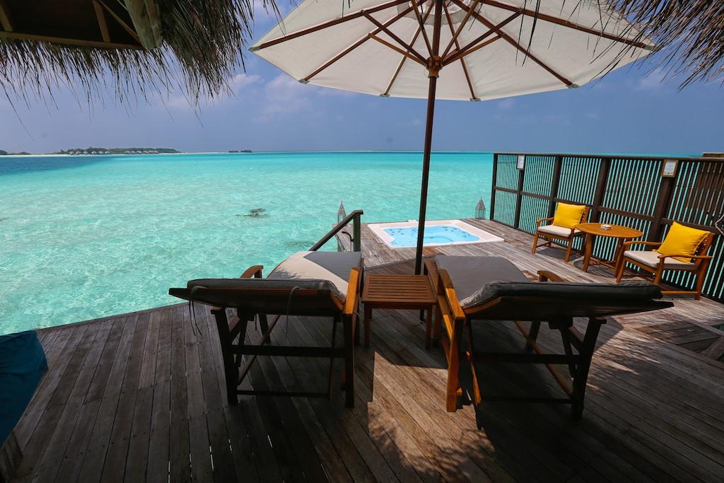 Conrad Maldives retreat water villa.
