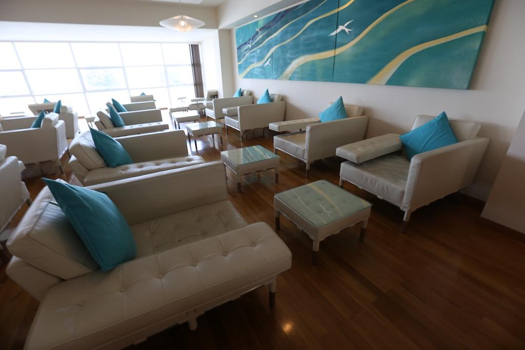 The Conrad lounge at Male.