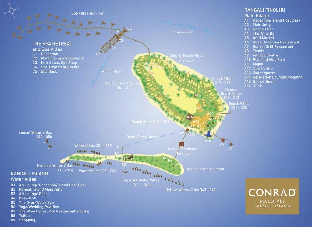 Conrad Maldives map.