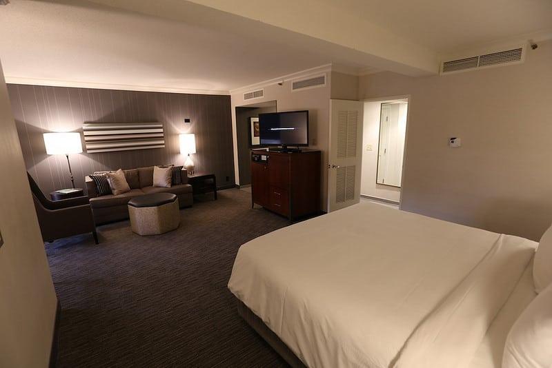 JW Marriott junior suite.