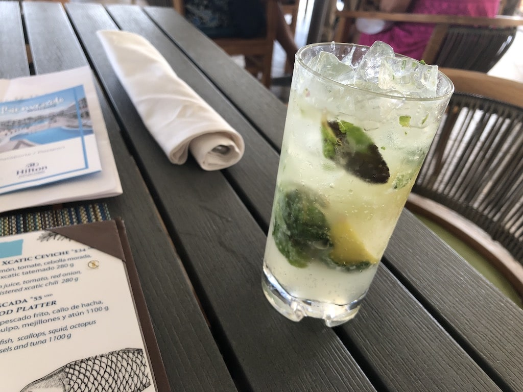 Picture of a Mojito drink