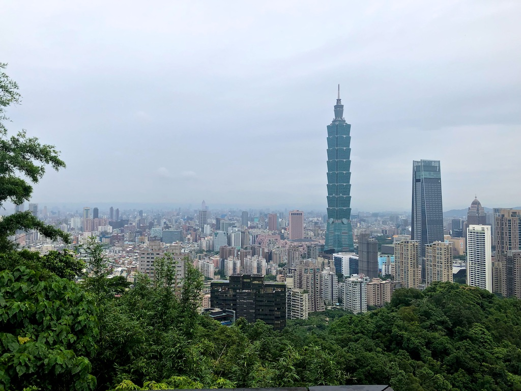 Iconic Elephant Mountain view Taipei