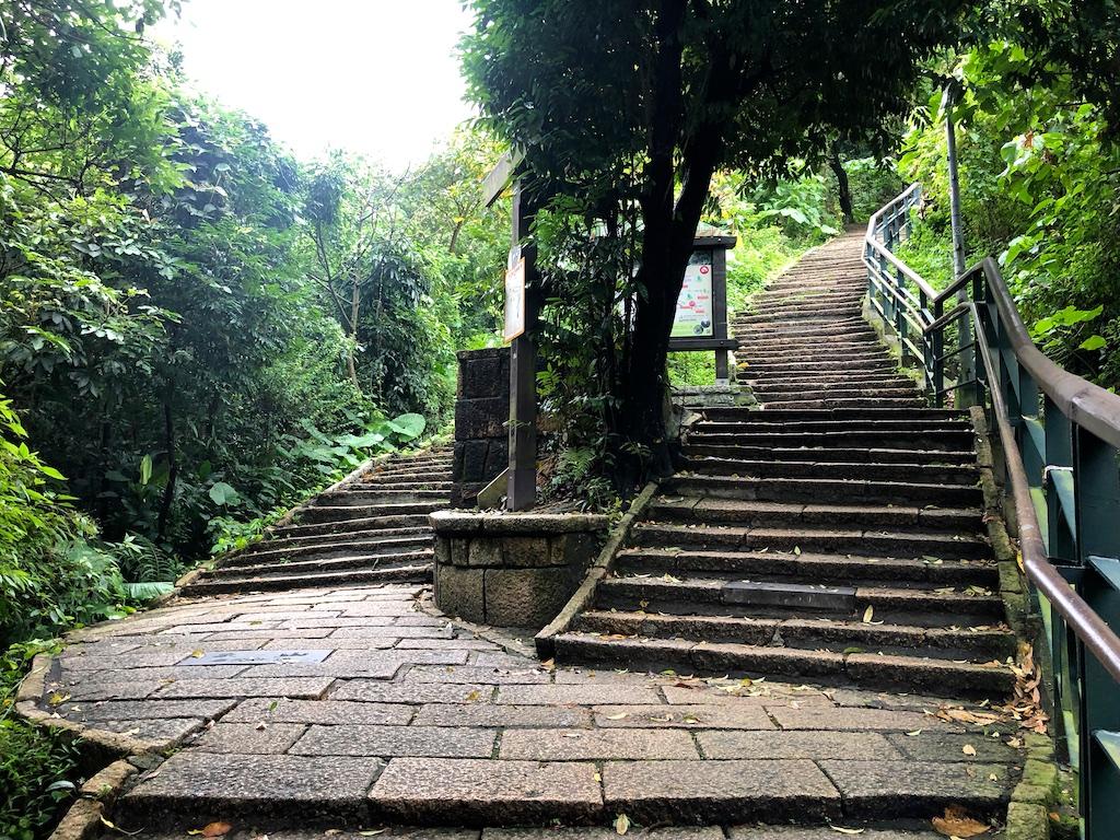 Stairs to Elephant Mountain Taipei