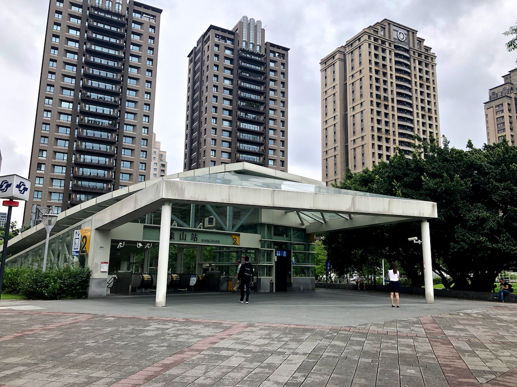 Exit 2 at Xiangshan Station