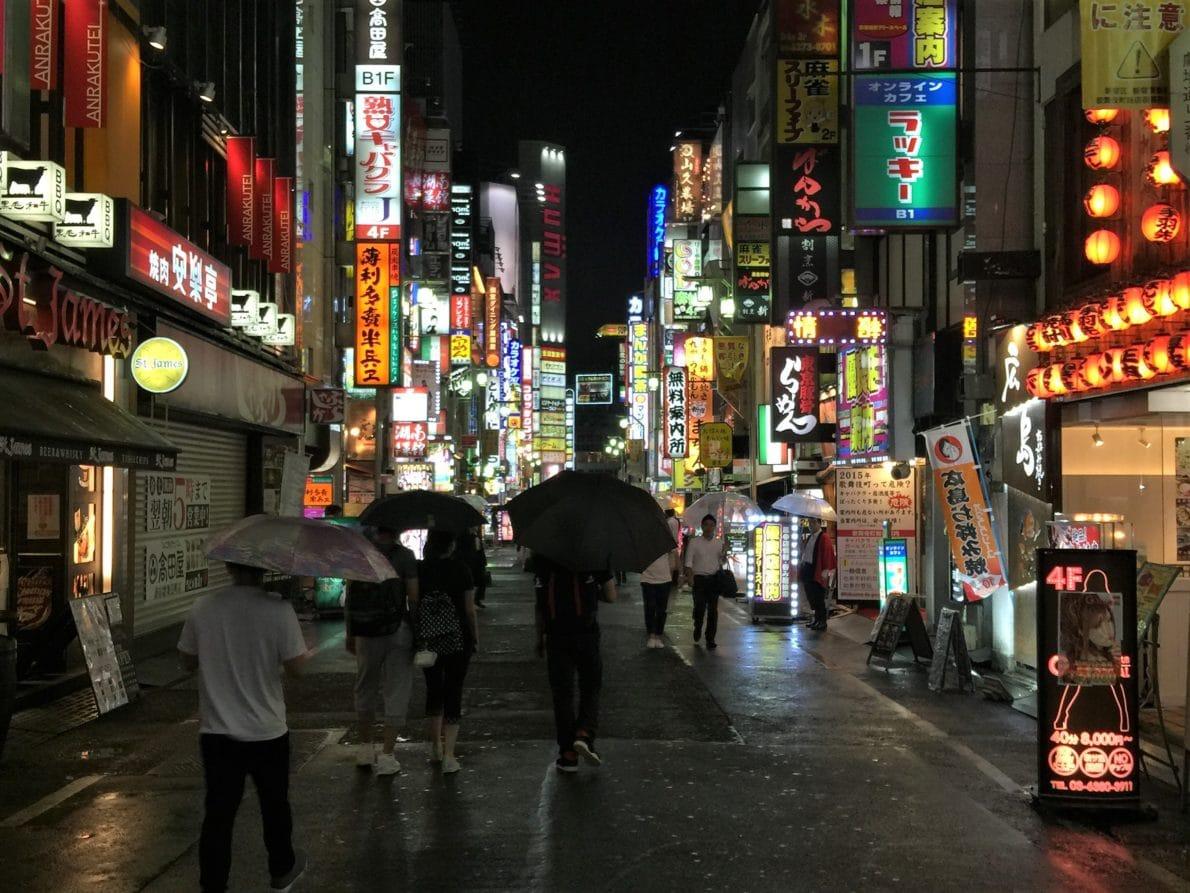 Shinjukus red light district Kabukicho