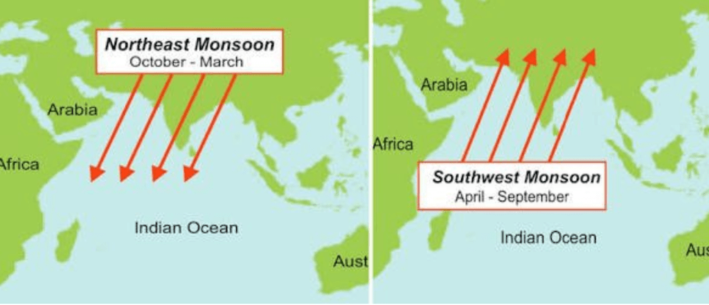 Map of Indian Ocean