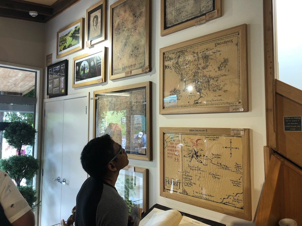 Maps at Gift shop