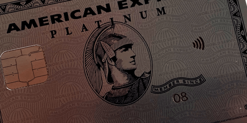 American express platinum member since on card