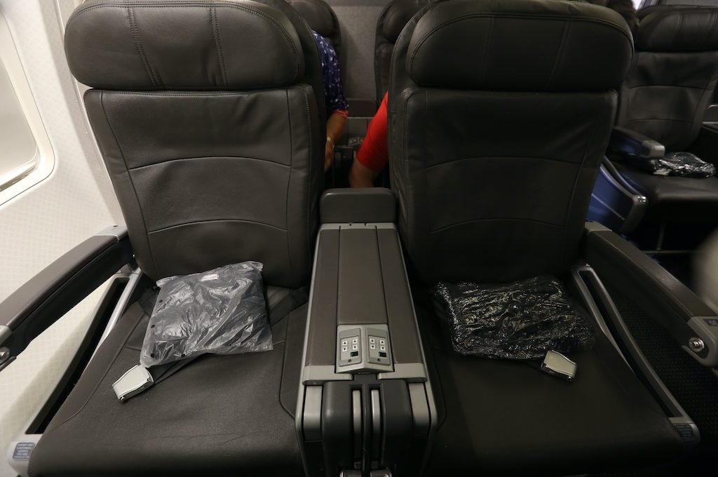 Two first class seats