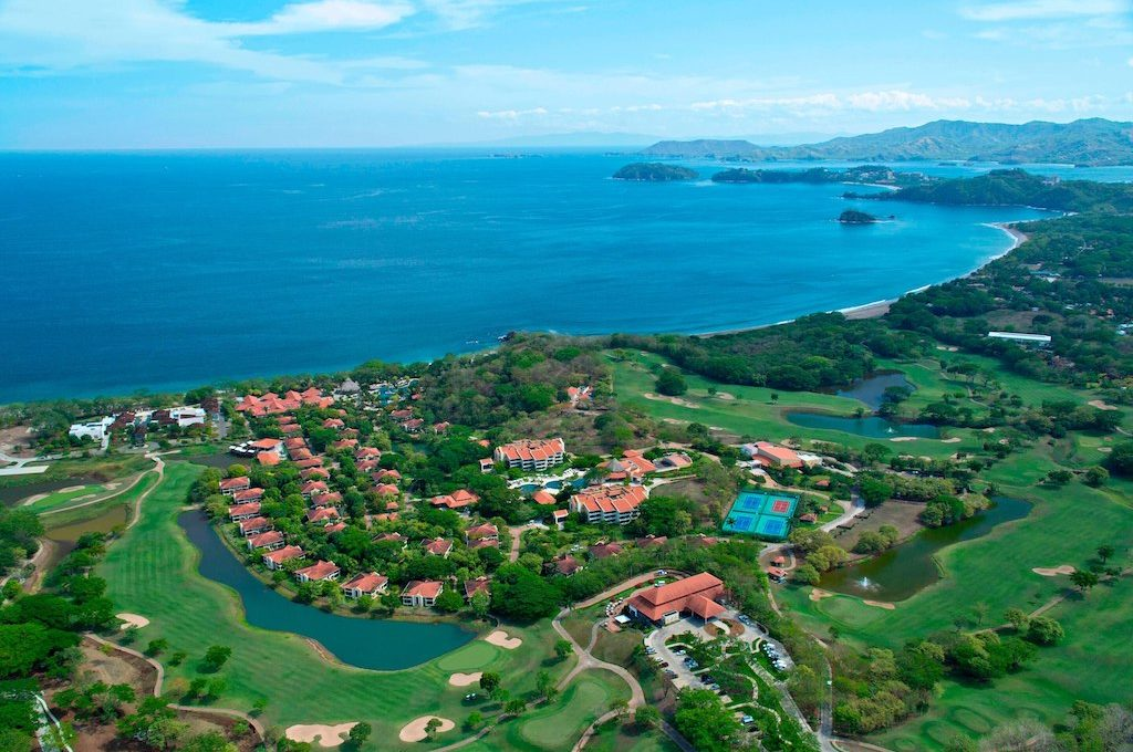 Aerial view of The Westin Reserva Conchal, an All-Inclusive Golf Resort and Spa.
