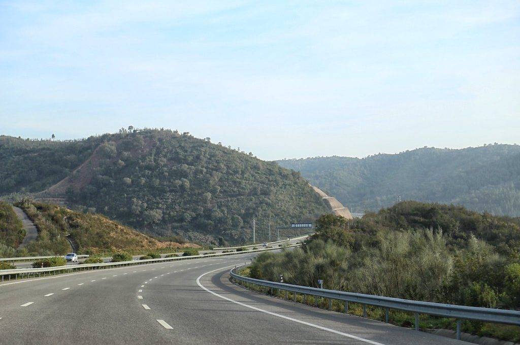 A2 highway Portugal