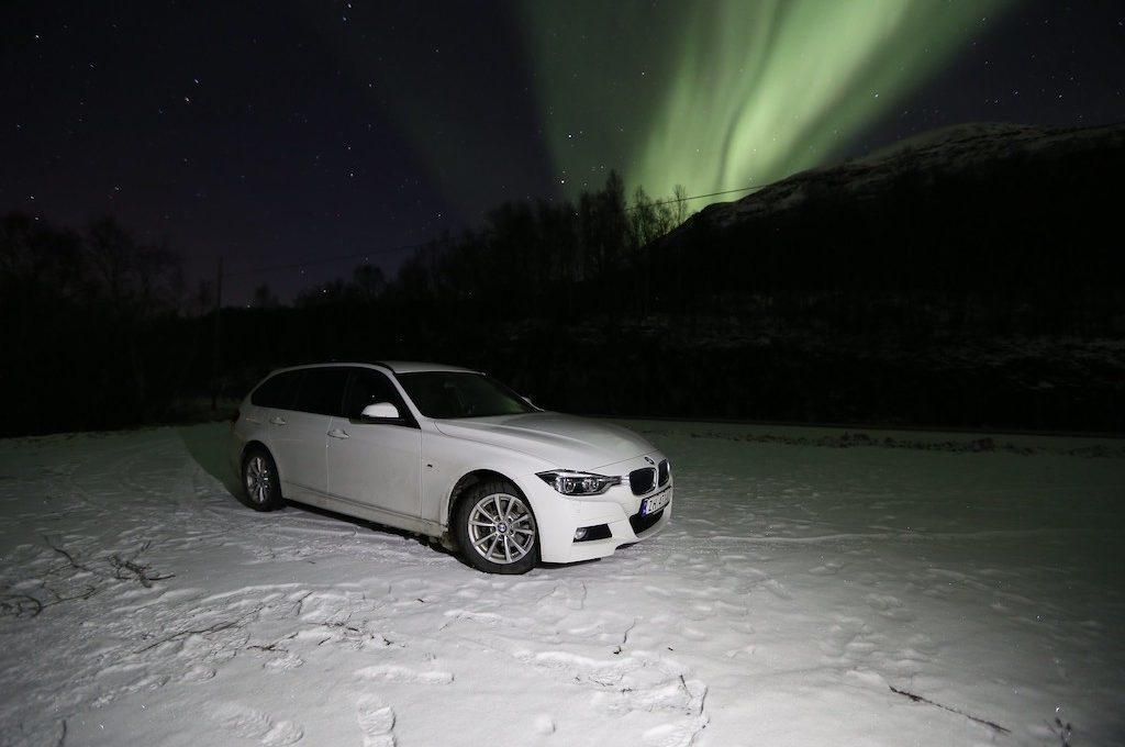 BMW Northern Lights Norway