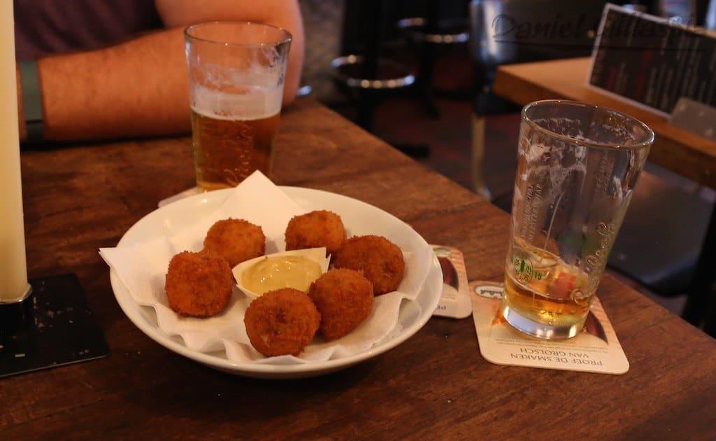 Bitterballen in Amsterdam