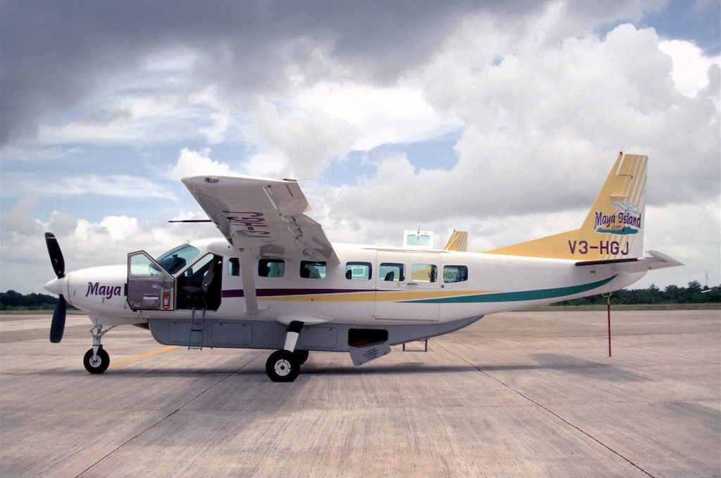 Maya Island Air plane