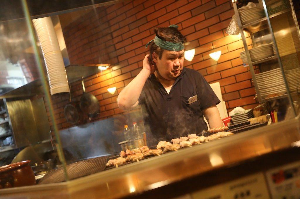 Chef on Tokyo Food Tour