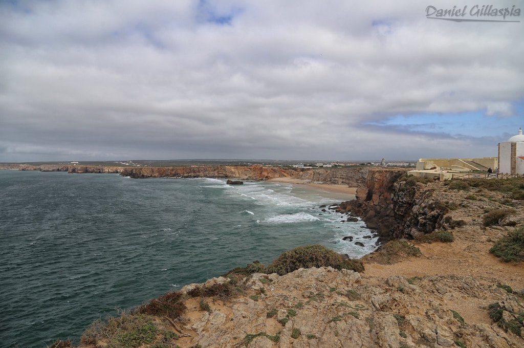 Cliffs outside Fortaleza de Sagres
