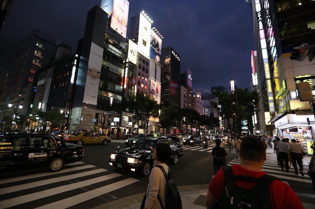 Crossing in Tokyo