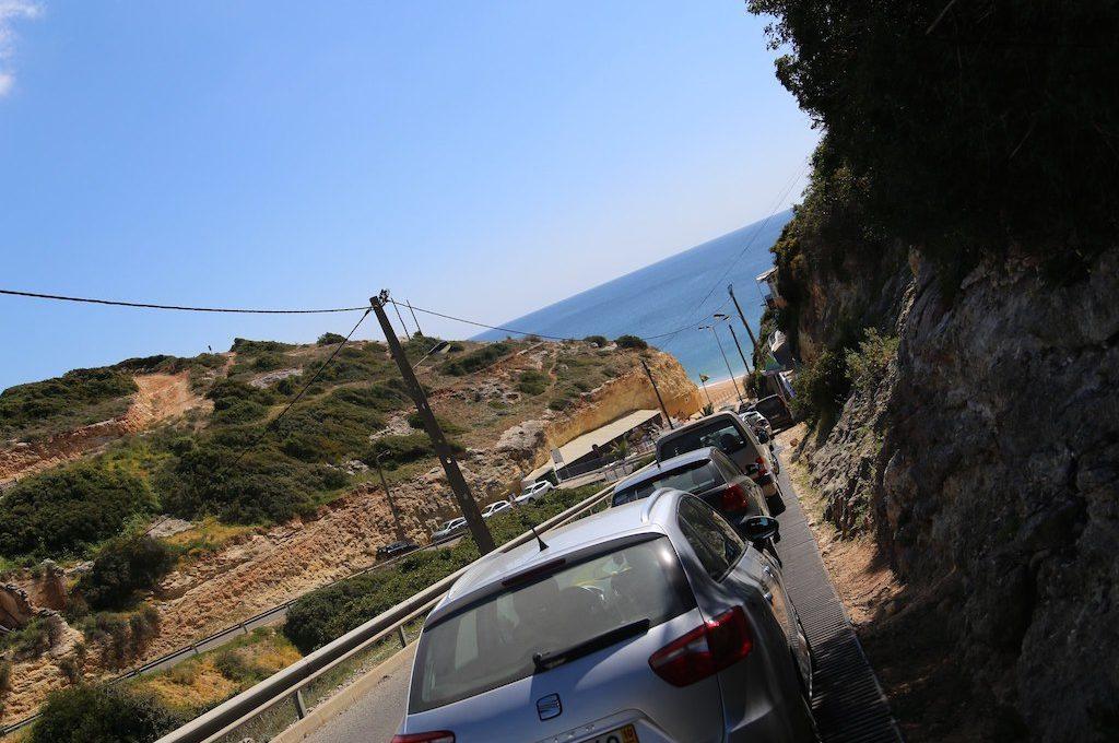 Parking near Benagil Sea Cave